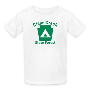 Clear Creek State Forest Keystone Camp - Kids' T-Shirt