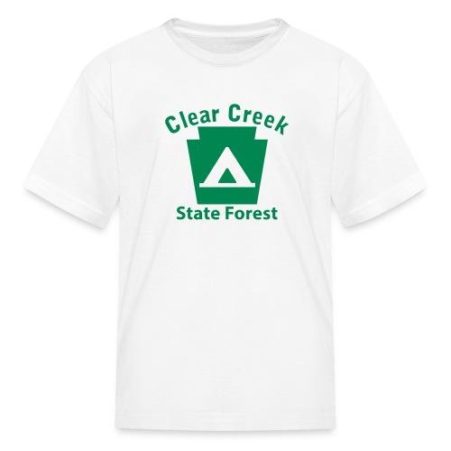 Clear Creek State Forest Keystone Camp - Kids' T-Shirt