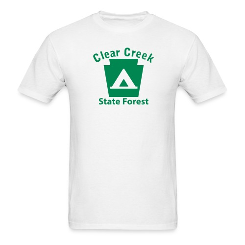 Clear Creek State Forest Keystone Camp - Men's T-Shirt
