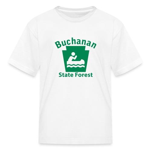 Buchanan State Forest Keystone Boat - Kids' T-Shirt