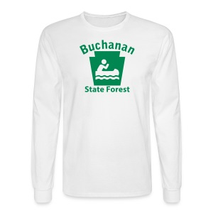 Buchanan State Forest Keystone Boat - Men's Long Sleeve T-Shirt
