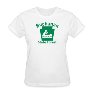 Buchanan State Forest Keystone Boat - Women's T-Shirt