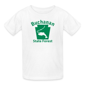 Buchanan State Forest Keystone Fish - Kids' T-Shirt