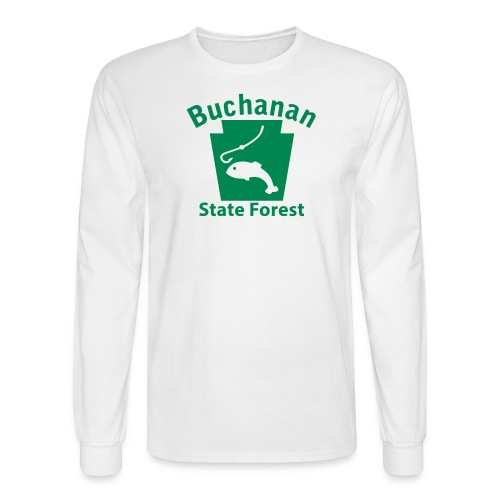 Buchanan State Forest Keystone Fish - Men's Long Sleeve T-Shirt