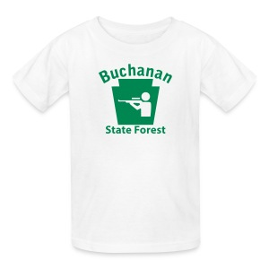 Buchanan State Forest Keystone Hunt - Kids' T-Shirt