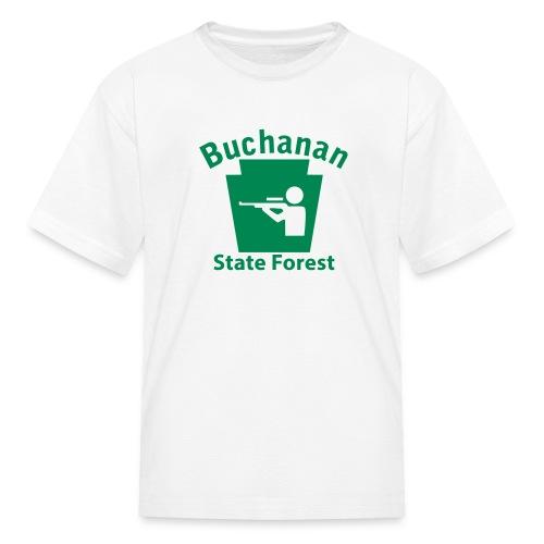 Buchanan State Forest Keystone Hunt - Kids' T-Shirt