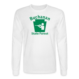 Buchanan State Forest Keystone Hunt - Men's Long Sleeve T-Shirt
