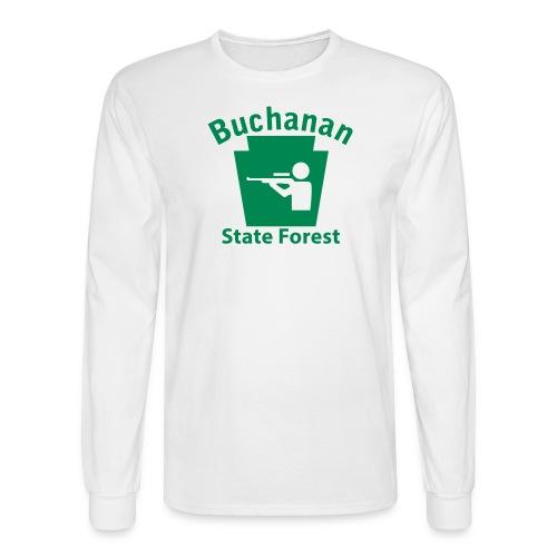 Buchanan State Forest Keystone Hunt - Men's Long Sleeve T-Shirt