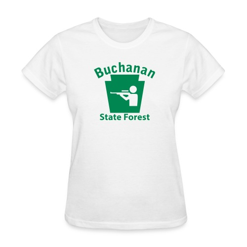 Buchanan State Forest Keystone Hunt - Women's T-Shirt