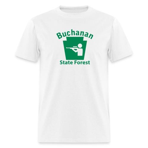 Buchanan State Forest Keystone Hunt - Men's T-Shirt