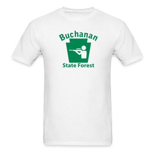 Buchanan State Forest Keystone Hunt - Men's T-Shirt