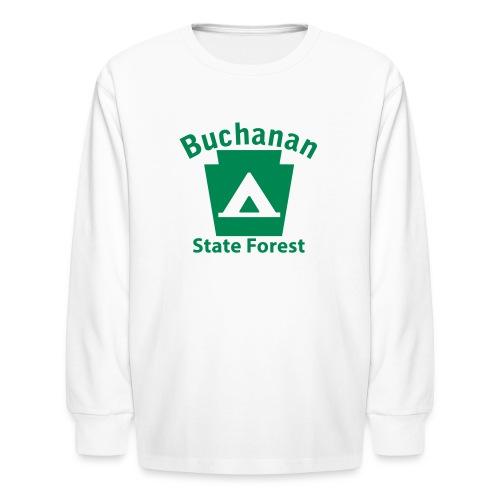 Buchanan State Forest Keystone Camp - Kids' Long Sleeve T-Shirt