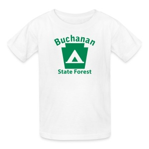 Buchanan State Forest Keystone Camp - Kids' T-Shirt