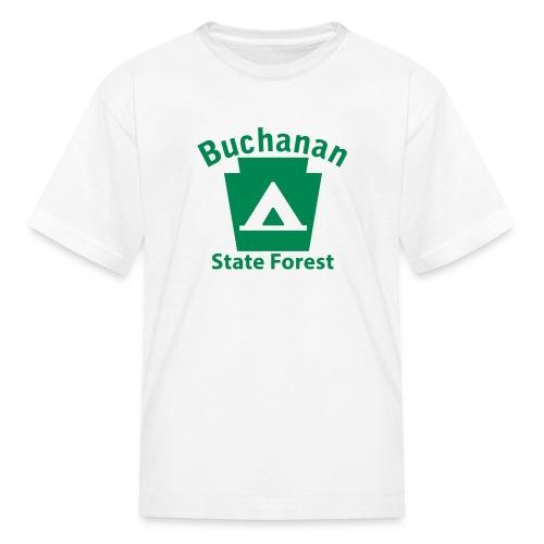 Buchanan State Forest Keystone Camp - Kids' T-Shirt