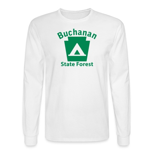 Buchanan State Forest Keystone Camp - Men's Long Sleeve T-Shirt