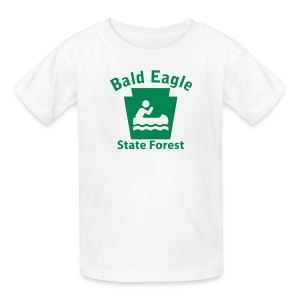 Bald Eagle State Forest Keystone Boat - Kids' T-Shirt