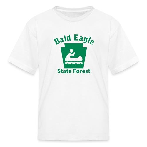 Bald Eagle State Forest Keystone Boat - Kids' T-Shirt