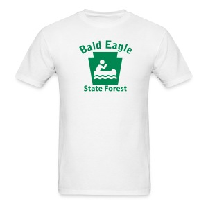 Bald Eagle State Forest Keystone Boat - Men's T-Shirt