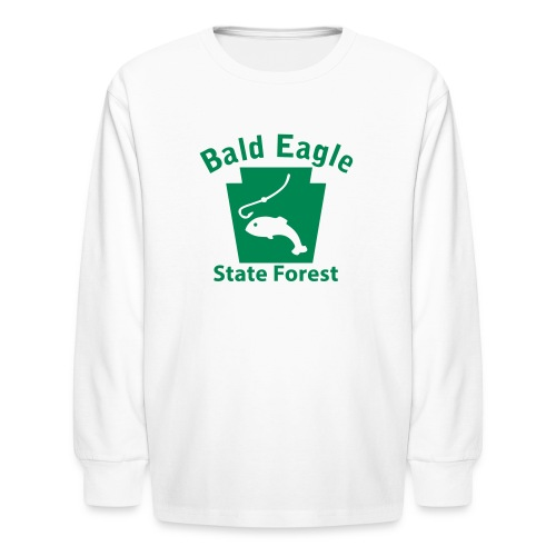 Bald Eagle State Forest Keystone Fish - Kids' Long Sleeve T-Shirt