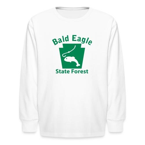 Bald Eagle State Forest Keystone Fish - Kids' Long Sleeve T-Shirt