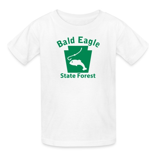 Bald Eagle State Forest Keystone Fish - Kids' T-Shirt