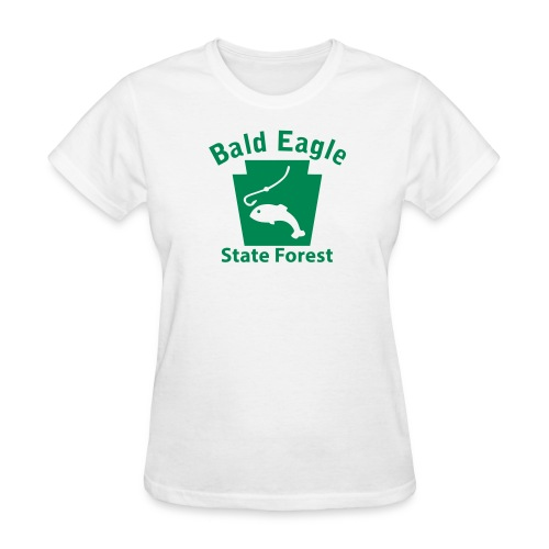 Bald Eagle State Forest Keystone Fish - Women's T-Shirt