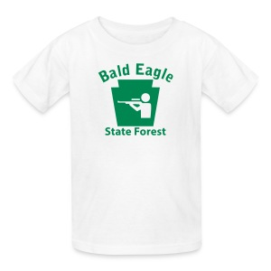 Bald Eagle State Forest Keystone Hunt - Kids' T-Shirt