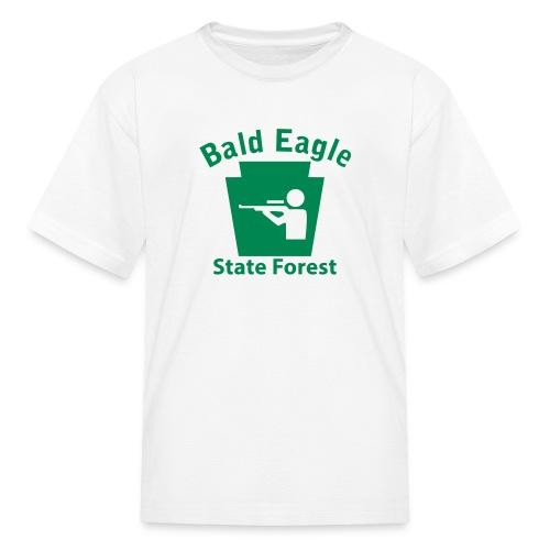 Bald Eagle State Forest Keystone Hunt - Kids' T-Shirt