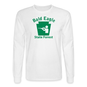 Bald Eagle State Forest Keystone Hunt - Men's Long Sleeve T-Shirt