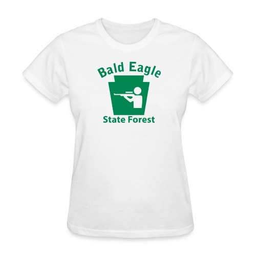 Bald Eagle State Forest Keystone Hunt - Women's T-Shirt