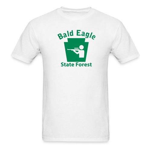 Bald Eagle State Forest Keystone Hunt - Men's T-Shirt