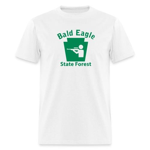 Bald Eagle State Forest Keystone Hunt - Men's T-Shirt