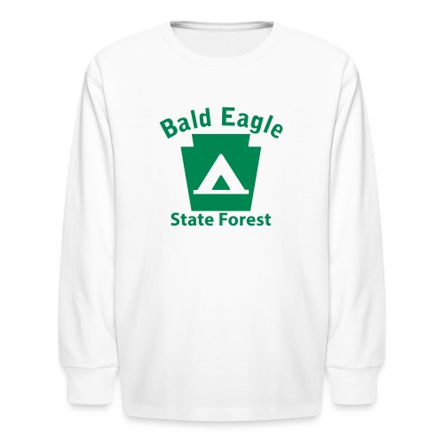 Bald Eagle State Forest Keystone Camp - Kids' Long Sleeve T-Shirt