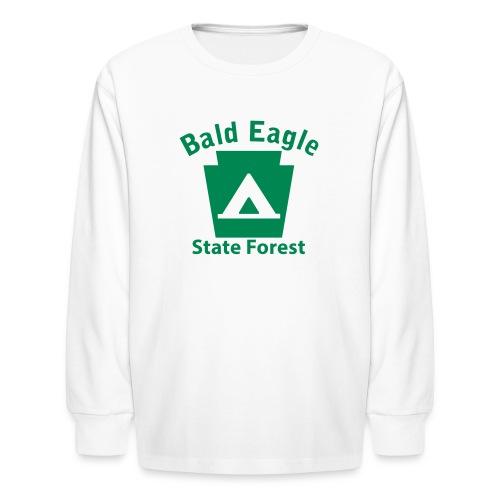 Bald Eagle State Forest Keystone Camp - Kids' Long Sleeve T-Shirt