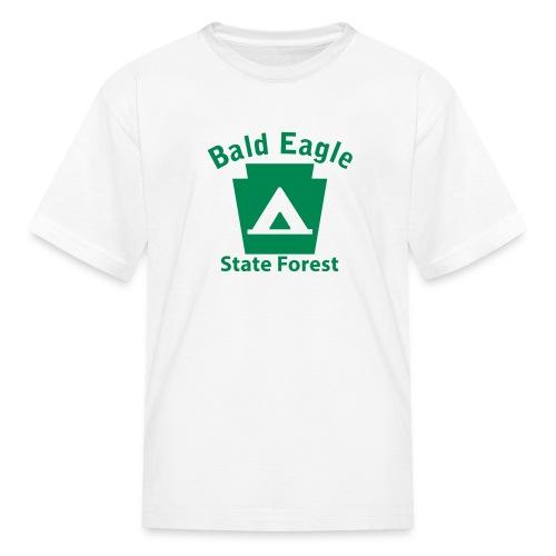 Bald Eagle State Forest Keystone Camp - Kids' T-Shirt