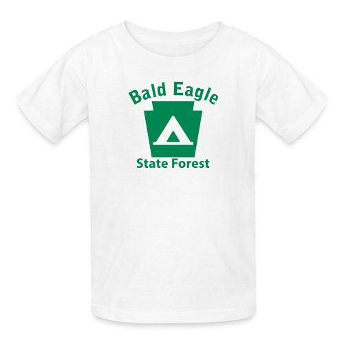 Bald Eagle State Forest Keystone Camp - Kids' T-Shirt