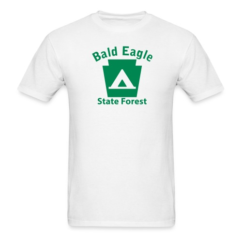 Bald Eagle State Forest Keystone Camp - Men's T-Shirt