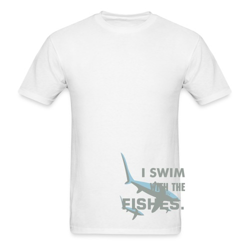 Sharks Swim Shirt - Men's T-Shirt