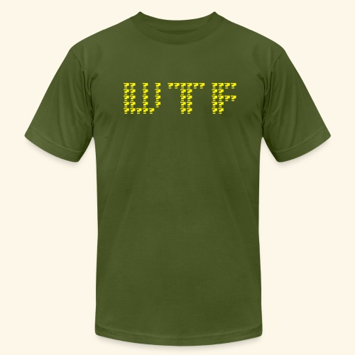 What The F***  - Men's Fine Jersey T-Shirt