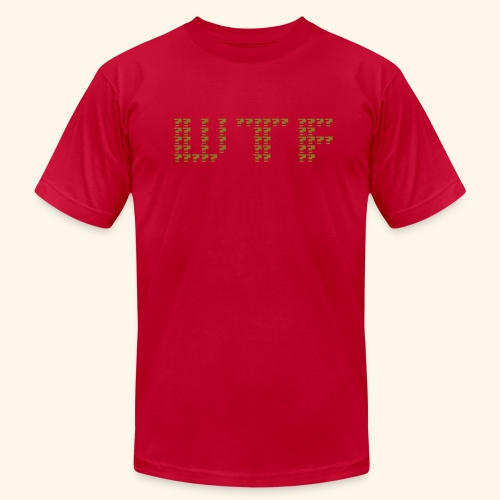 What The F*** (gold) - Men's Fine Jersey T-Shirt