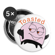 Buttons ~ Large Buttons ~ Toasted Pin