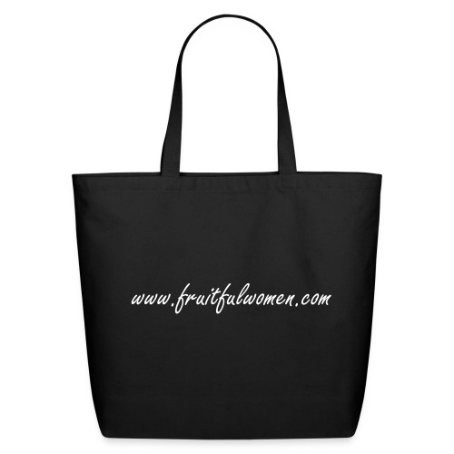 Fruitful Women Eco-Friendly Tote - Eco-Friendly Cotton Tote