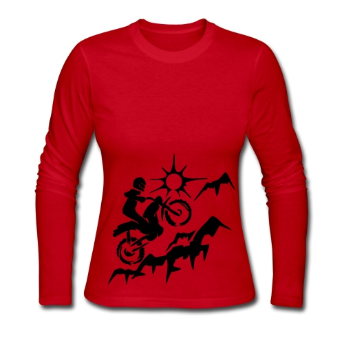 MOTORCYCLE - Women's Long Sleeve Jersey T-Shirt