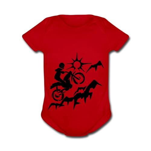 MOTORCYCLE - Organic Short Sleeve Baby Bodysuit