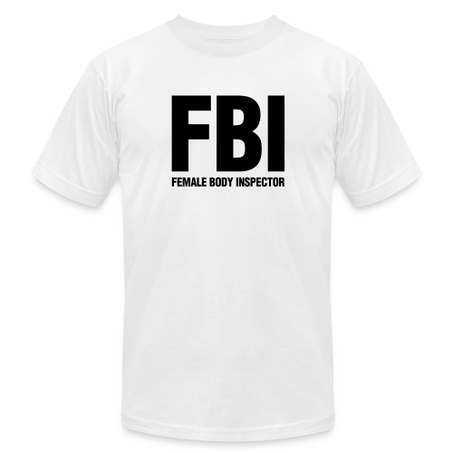 Female Body Inspector - Men's Fine Jersey T-Shirt