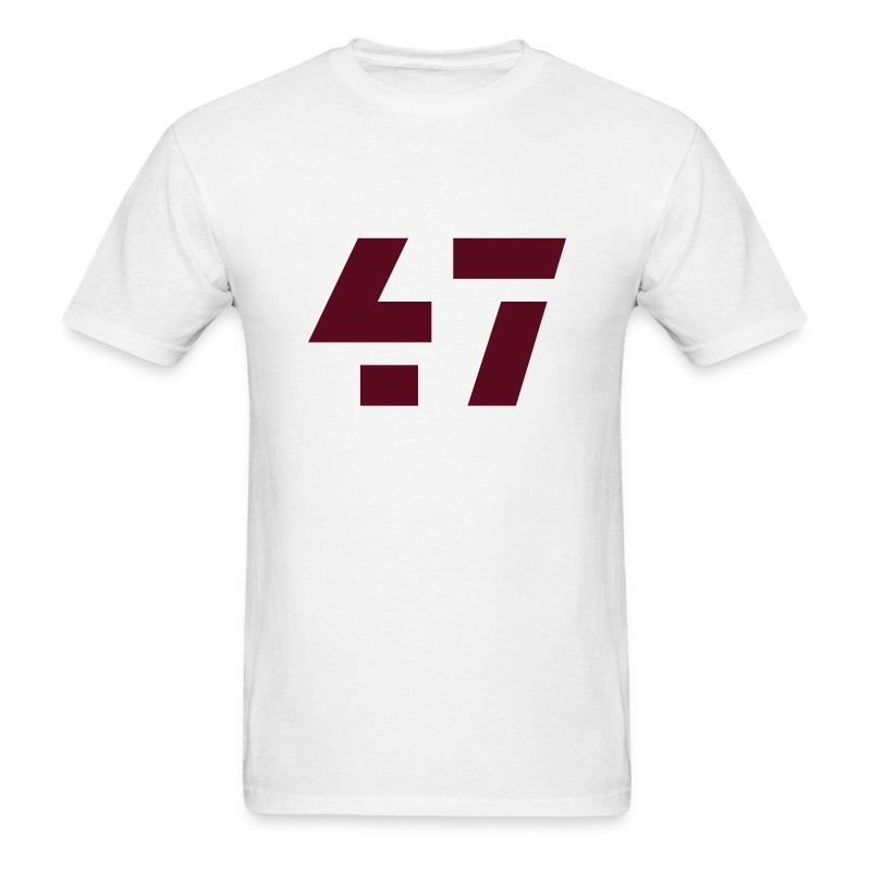 47 Men's Standard Weight Tee White - Men's T-Shirt