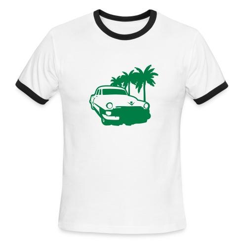 beach cruiser - Men's Ringer T-Shirt