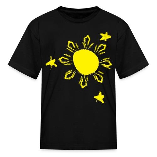 Skribbled Sun - Kid's - Kids' T-Shirt
