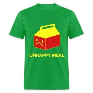 Unhappy Meal Green T-Shirt - Men's T-Shirt