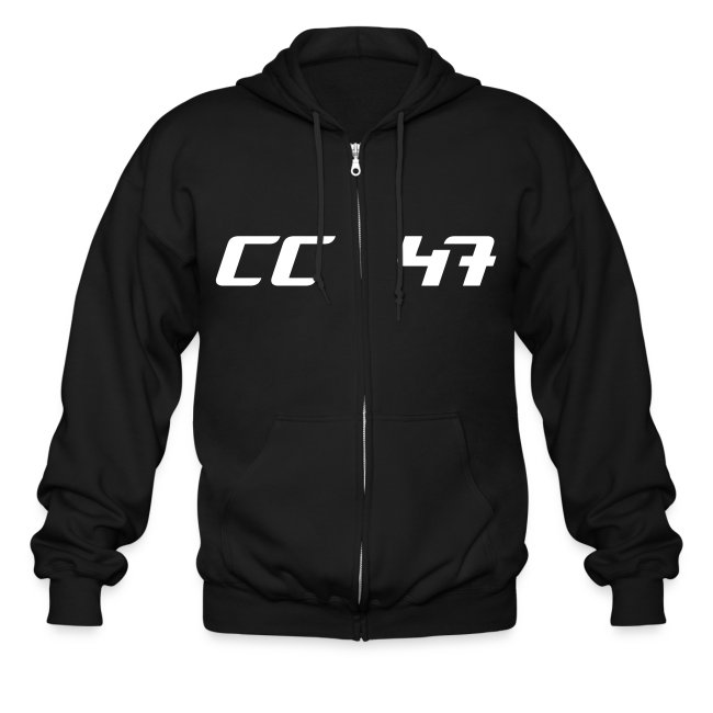 Forty Seven Zippered Hoodie/Mens